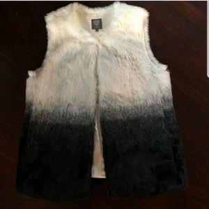 Vince Camuto faux fur ombre soft vest